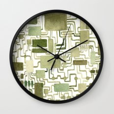 #17. JONNY - Microchip Wall Clock