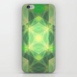 Gem light iPhone Skin