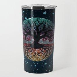 Autumn Esoteric Triple Moon V2 Travel Mug