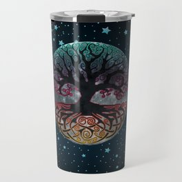 Autumn Esoteric Triple Moon V2 Travel Mug
