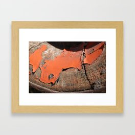 Wagon Wheel 2 Framed Art Print
