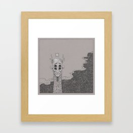 Things that are Scary (a Partial Compendium) Framed Art Print
