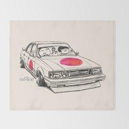 Crazy Car Art 0172 Throw Blanket