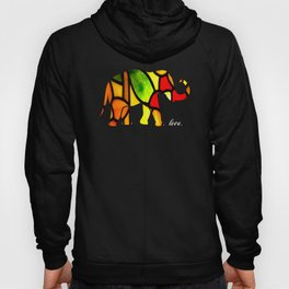 Elephant Love Gift Bright Hoody
