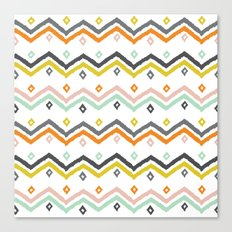 Blanket Stripe Canvas Print