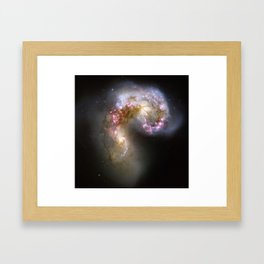 Antennae Galaxies Framed Art Print