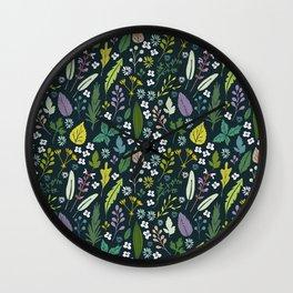 Herbal dream Wall Clock