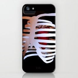 Ribcaged Heart iPhone Case