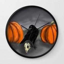 Samhain Approaches Wall Clock