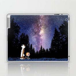 calvin and hobbes dreams Laptop & iPad Skin