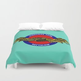 Tank with Wings Duvet Cover