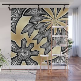 Pointillism Tribal fusion Wall Mural