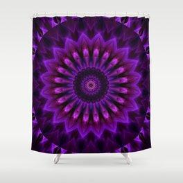 Mandala Crownchakra Shower Curtain
