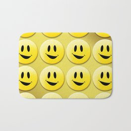 Smiley Smileys! Bath Mat