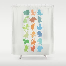 The Starters Shower Curtain