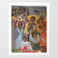 From Africa to America Art Print