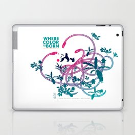 "Köpke's ""Where Color is Born - The Great Panda Adventure"" Laptop & iPad Skin"