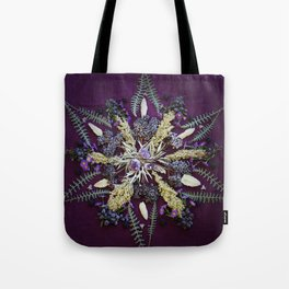 Nature Mandala: September Tote Bag
