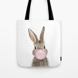 Bubble Gum Bunny Tote Bag