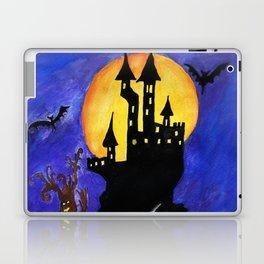 Haloween Castle Laptop & iPad Skin