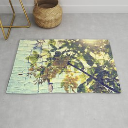 Busy Bee and Locust Tree Rug