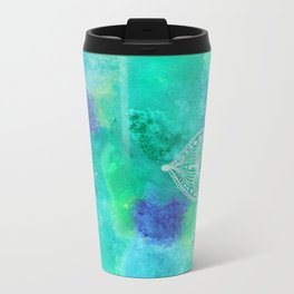 Ice Mandala Metal Travel Mug