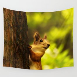 Did you say something? Wall Tapestry