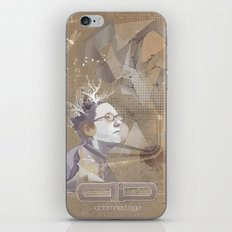 adamned.age artist poster  iPhone Skin