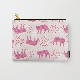 pink and red leopards Carry-All Pouch