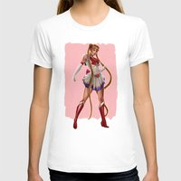 sailor moon T-shirts featuring Sailor Moon by KlsteeleArt