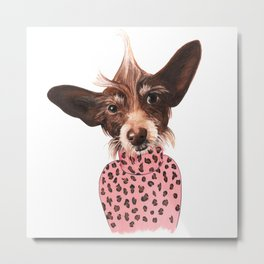 Murphy Brown Metal Print
