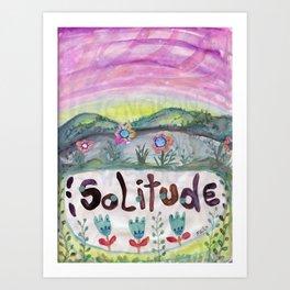 Alone Time Art Print
