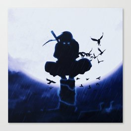 itachi uchiha Canvas Print