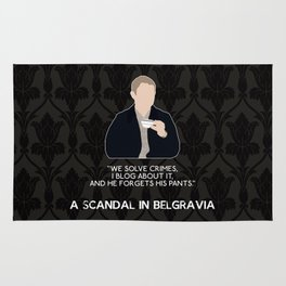 A Scandal in Belgravia - John Watson Rug