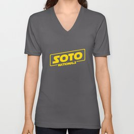 Soto: A Nationals Story Unisex V-Neck