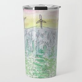 Watercolour - New Brunswick Sunset Travel Mug