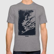 Survival MEDIUM Tri-Grey Mens Fitted Tee
