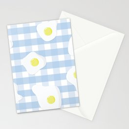 Sunny Side Up + Gingham Stationery Cards