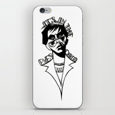 It's In the Eyes Chico iPhone & iPod Skin