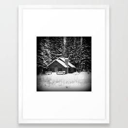 The Snow White Murder Framed Art Print