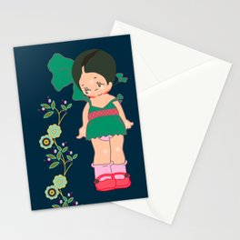 little miss zeesha Stationery Cards