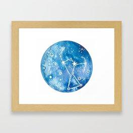 Osirus Framed Art Print
