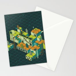 Positronic Groove Stationery Cards