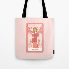 Tarot Card XV: The Devil Tote Bag