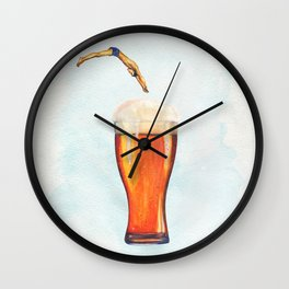 Holiday Wall Clock