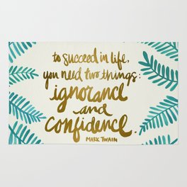 Ignorance & Confidence #1 Rug