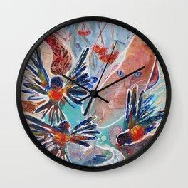 Rainbow Surprise Wall Clock