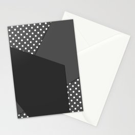Grey abstract abstract Stationery Cards