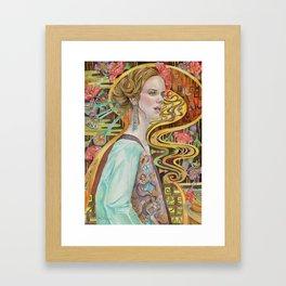 Flower in a Bitter World I Framed Art Print