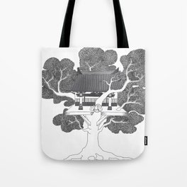 Tree of Life: Circle of Willis Manifest Tote Bag